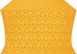 Czar's Cross silk (rayon brocade) (yellow/gold)