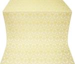 Czar's Cross silk (rayon brocade) (white/gold)
