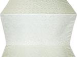 Czar's Cross silk (rayon brocade) (white/silver)