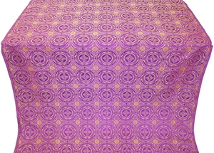 Corinth metallic brocade (violet/gold)