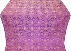 Corinth metallic brocade (violet/gold)