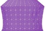 Corinth metallic brocade (violet/silver)