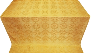 Corinth silk (rayon brocade) (yellow/gold)