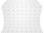 Vera metallic brocade (white/silver)