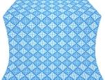 Vera silk (rayon brocade) (blue/silver)