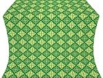 Vera silk (rayon brocade) (green/gold)
