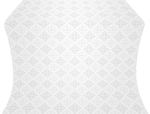 Vera silk (rayon brocade) (white/silver)