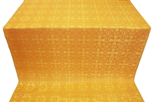 Cornflower metallic brocade (yellow/gold)
