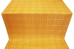 Cornflower silk (rayon brocade) (yellow/gold)