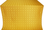 Perezvon silk (rayon brocade) (yellow/gold)