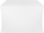 Mira Lycia metallic brocade (white/silver)