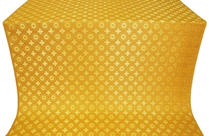 Mira Lycia silk (rayon brocade) (yellow/gold)