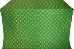 Mira Lycia silk (rayon brocade) (green/gold)