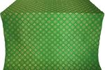 Mira Lycia silk (rayon brocade) (green/gold)