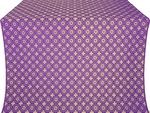 Mira Lycia silk (rayon brocade) (violet/gold)