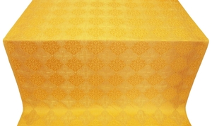 Kolomna silk (rayon brocade) (yellow/gold)