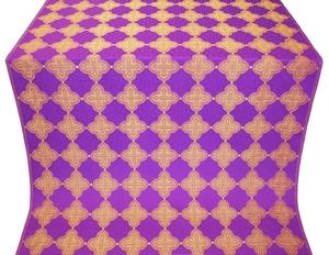 Kolomna silk (rayon brocade) (violet/gold)