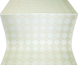 Kolomna silk (rayon brocade) (white/silver)