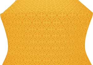 Paschal Egg metallic brocade (yellow/gold)