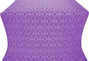 Paschal Egg silk (rayon brocade) (violet/silver)