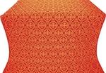 Paschal Egg silk (rayon brocade) (red/gold)