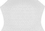 Paschal Egg silk (rayon brocade) (white/silver)