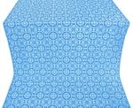 Posad metallic brocade (blue/silver)