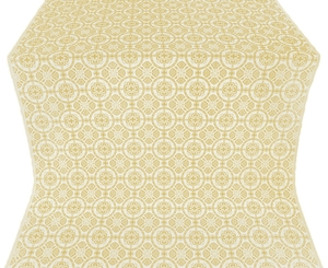 Posad metallic brocade (white/gold)