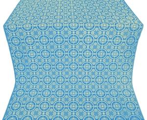 Posad silk (rayon brocade) (blue/gold)