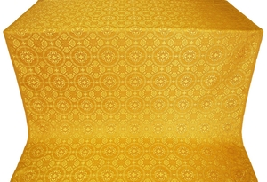 Posad silk (rayon brocade) (yellow/gold)
