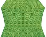 Posad silk (rayon brocade) (green/gold)