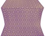 Posad silk (rayon brocade) (violet/gold)