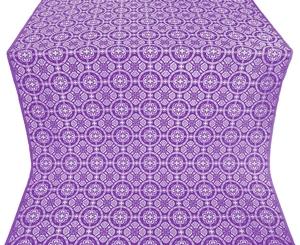Posad silk (rayon brocade) (violet/silver)