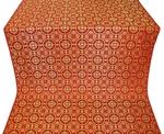 Posad silk (rayon brocade) (red/gold)