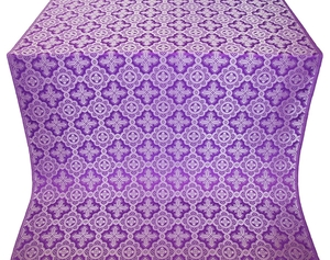 Old-Greek metallic brocade (violet/silver)