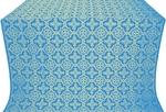 Old-Greek silk (rayon brocade) (blue/gold)