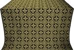 Old-Greek silk (rayon brocade) (black/gold)