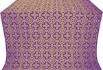 Old-Greek silk (rayon brocade) (violet/gold)