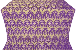 Vinograd metallic brocade (violet/gold)