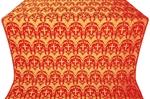 Vinograd metallic brocade (red/gold)