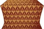 Vinograd silk (rayon brocade) (claret/gold)