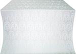 Vinograd silk (rayon brocade) (white/silver)