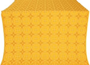 Gouslitsa silk (rayon brocade) (yellow/gold)