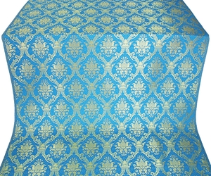 Royal Crown metallic brocade (blue/gold)