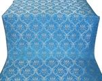 Royal Crown metallic brocade (blue/silver)