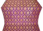 Royal Crown metallic brocade (violet/gold)