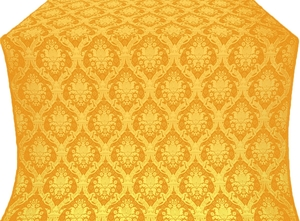 Royal Crown silk (rayon brocade) (yellow/gold)