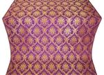 Royal Crown silk (rayon brocade) (violet/gold)
