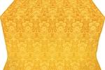 Gloksiniya metallic brocade (yellow/gold)