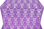 Gloksiniya metallic brocade (violet/silver)